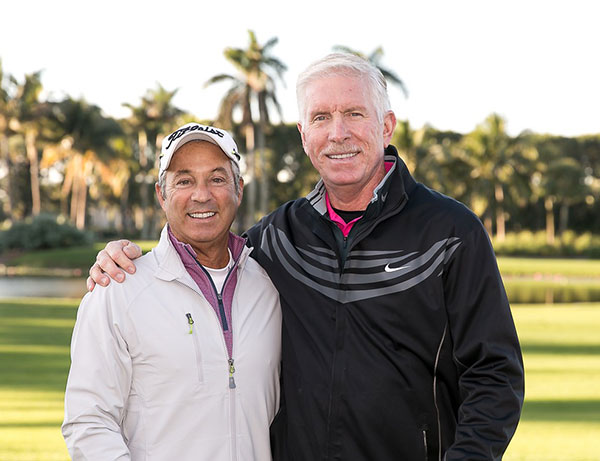 Charles Gottesman, Chair, RDK Melanoma Golf Classic with Mike Schmidt, Celebrity Host, and Melanoma Education Advocate